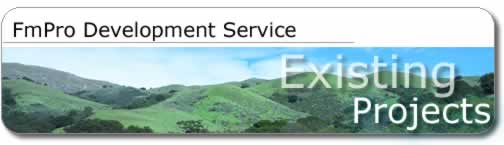 FmPro Development Service - Existing Projects - Title Graphic