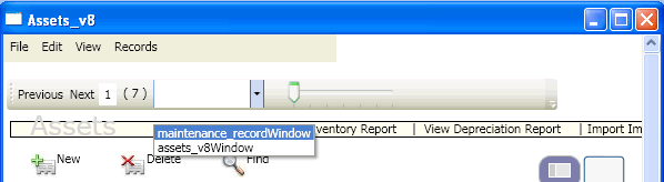 .Net Application Menus and Toolbar