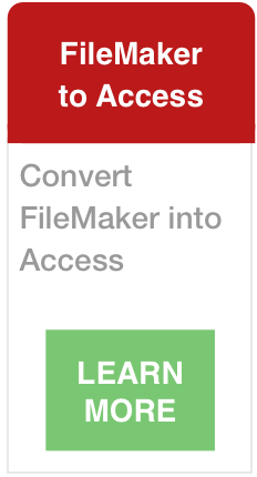 Transition FileMaker to Access