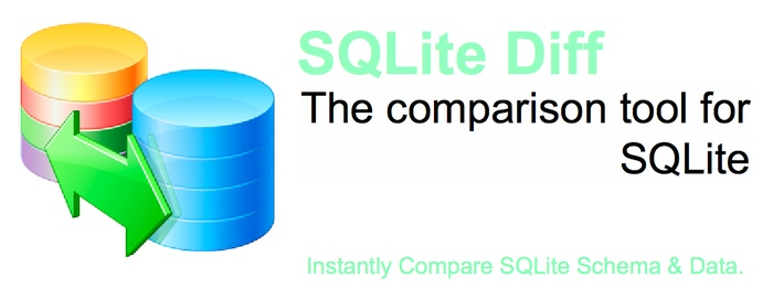 SQLite Diff - The comparison tool for SQLite. Compare SQLite Schema & Data.